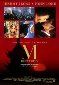 M. Butterfly, David Cronenberg