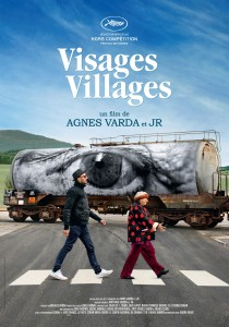 Visages, villages, JR Agnès Varda