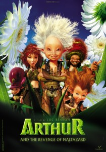 Arthur and the Minimoys 2, Luc Besson