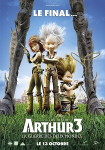 Arthur and the Minimoys 3, Luc Besson