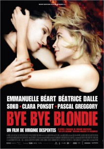 Bye Bye Blondie, Virginie Despentes