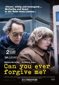 Can you ever forgive me?, Marielle Heller