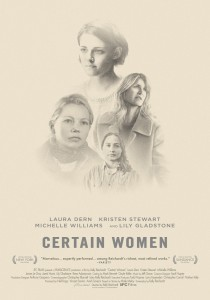 Certain Women, Kelly Reichardt