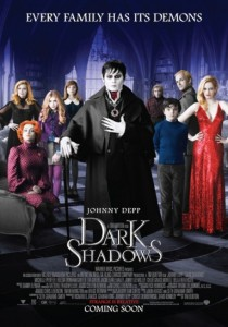 Dark Shadows, Tim Burton