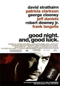 Good Night, and Good Luck, George Clooney