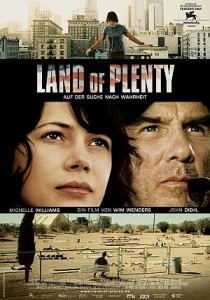 Land of Plenty, Wim Wenders