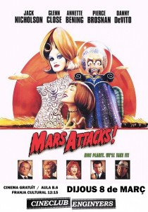 Mars Attacks!, Tim Burton