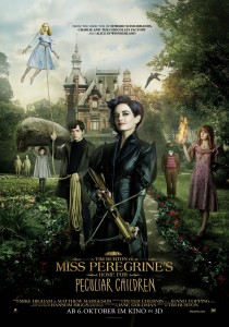 Miss Peregrine's Home for Peculiars, Tim Burton