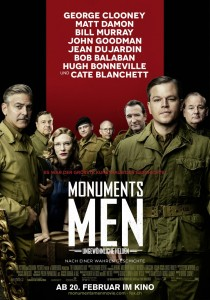 The Monuments Men, George Clooney