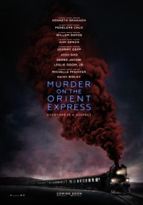 Murder on the Orient Express, Kenneth Branagh
