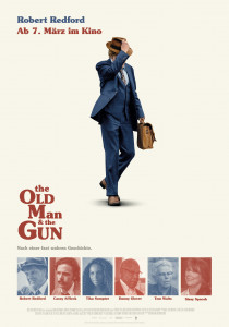 The old Man and the Gun, David Lowery