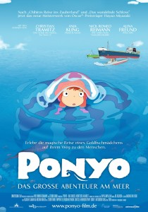 Ponyo on the Cliff by the Sea, Hayao Miyazaki