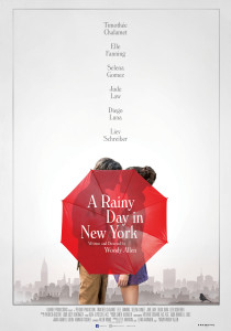 A rainy Day in New York, Woody Allen