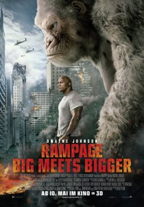 Rampage: Big meets bigger, Brad Peyton