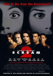 Scream 2, Wes Craven